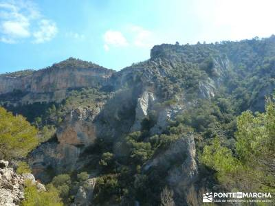 Hundido de Armallones - Alto Tajo; fin de semana; actividades turismo;abril viajes